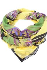 Givenchy Bird Of Paradise Print Scarf - Lyst