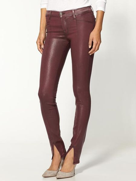 Womens Waxed Jeans