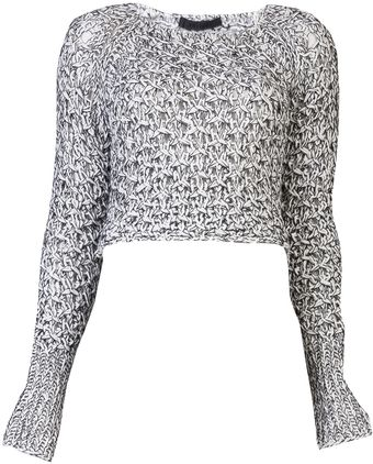 Jen Kao Tangled Knit Sweater - Lyst