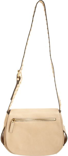 Marni Small Studded Saddle Bag - Lyst