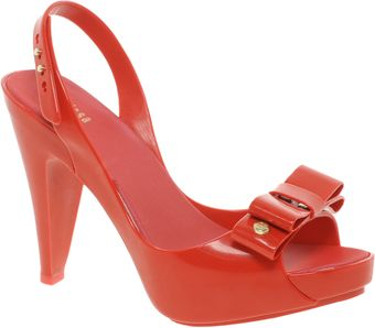 Melissa Peep-toe Heeled Sandals - Lyst
