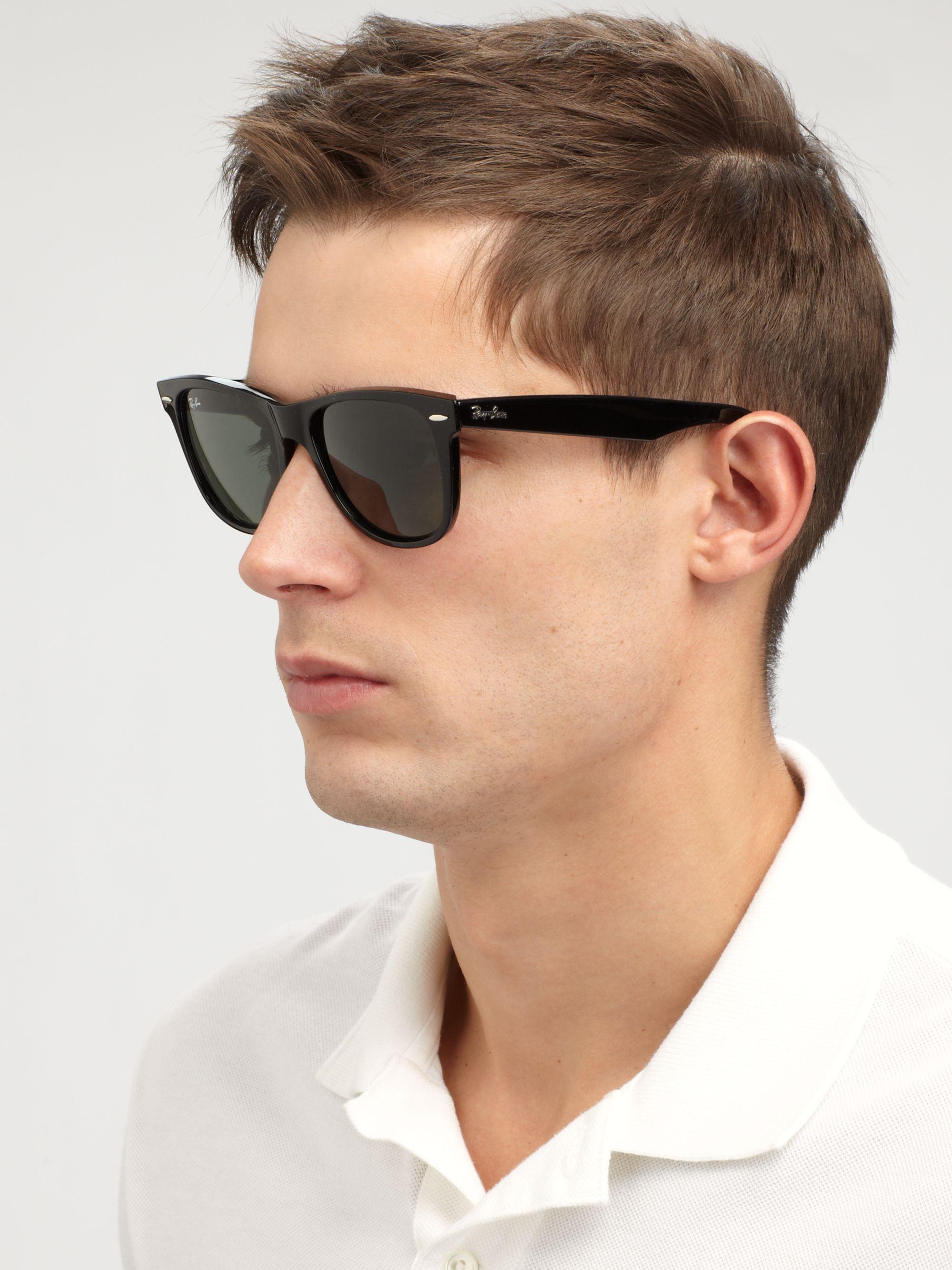 60085f257c Lyst - Ray-Ban Classic Wayfarer Sunglasses in Black for Men