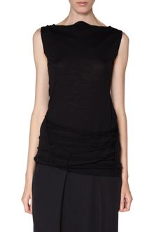 Rick Owens Sleeveless Yarn Sweater - Lyst
