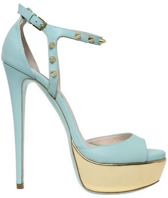 Ruthie Davis® 150mm Jupiter Leather Sandals - Lyst