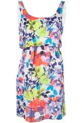 Alice + Olivia Floral Dress - Lyst