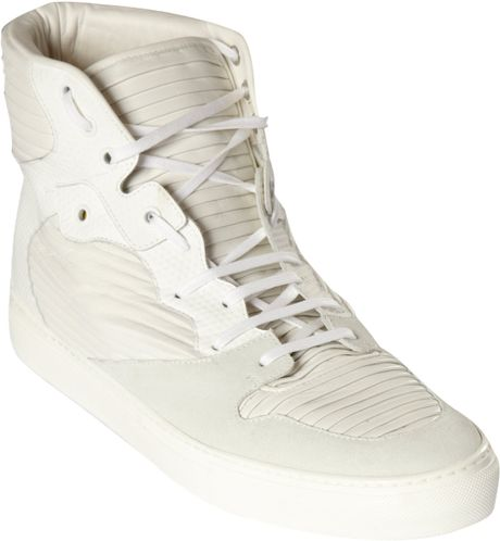 Balenciaga High Top Sneakers in Beige for Men (white)