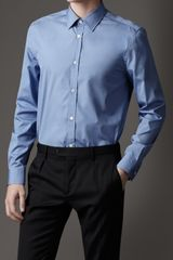 Burberry Modern Fit Cotton Shirt - Lyst