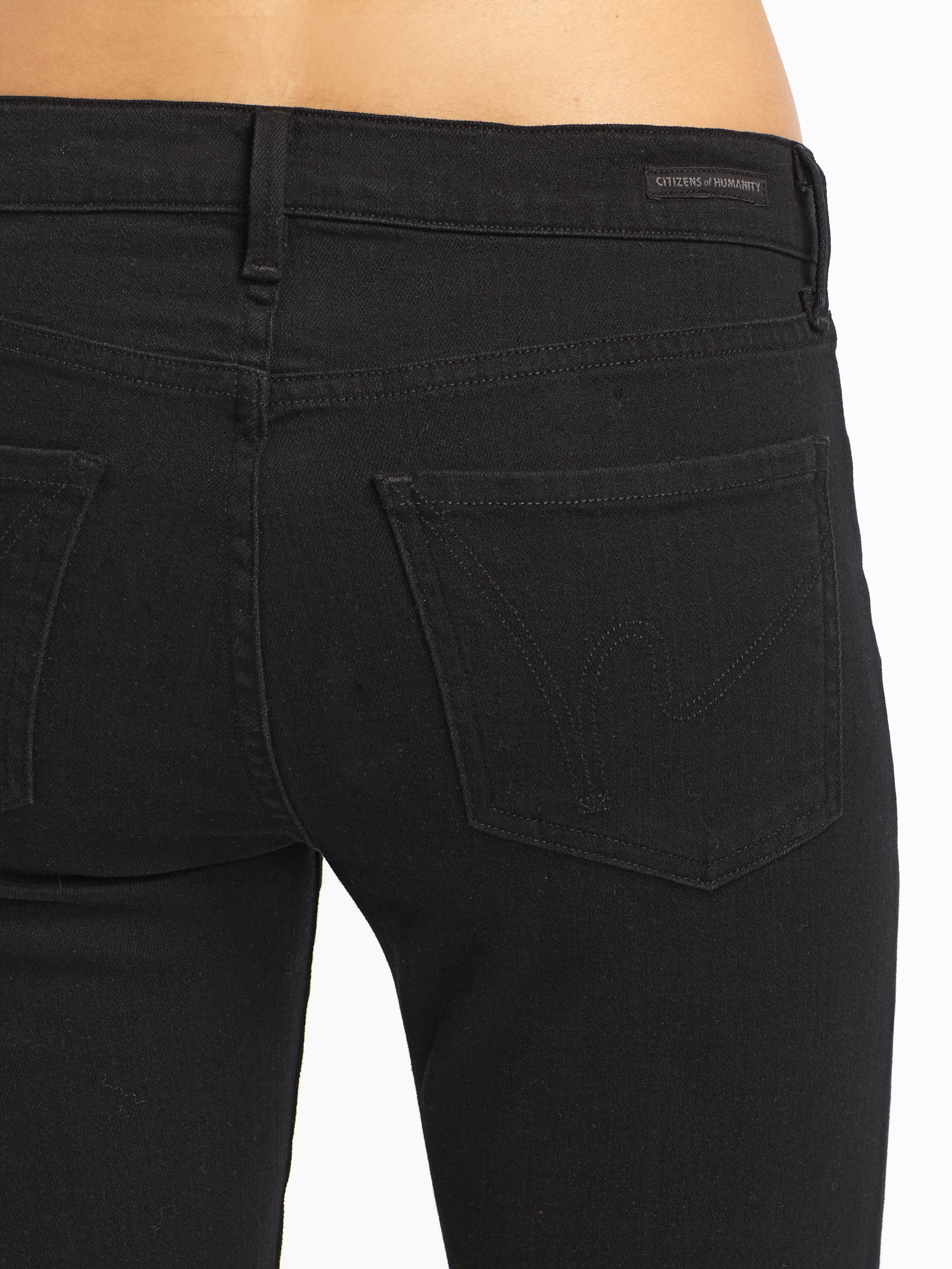 Citizens of humanity black bootcut jeans