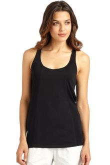 Donna Karan New York Ribbed Racerback Tank Top - Lyst