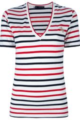 DSquared2 Striped T-Shirt - Lyst