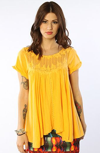 Free People The Dance with Harini Top in Sunshine - Lyst