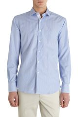 Lanvin Bengal Stripe Dress Shirt - Lyst