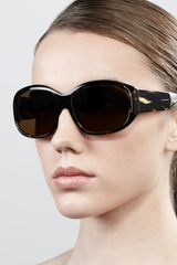Oliver Peoples Rovella Oversized Oval Sunglasses  - Lyst