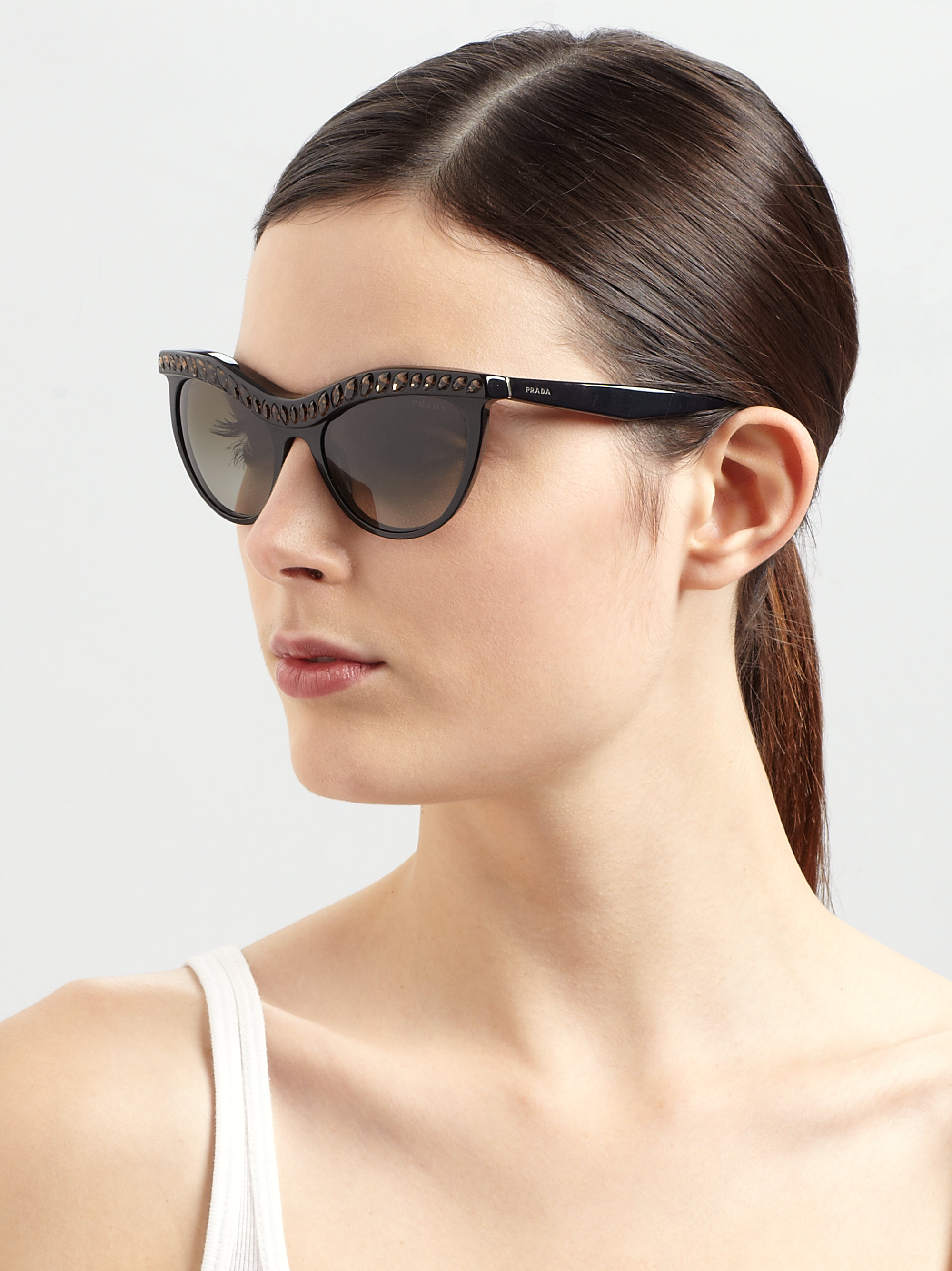58ab3a2f89741 Gallery. Previously sold at  Saks Fifth Avenue · Women s Cat Eye Sunglasses