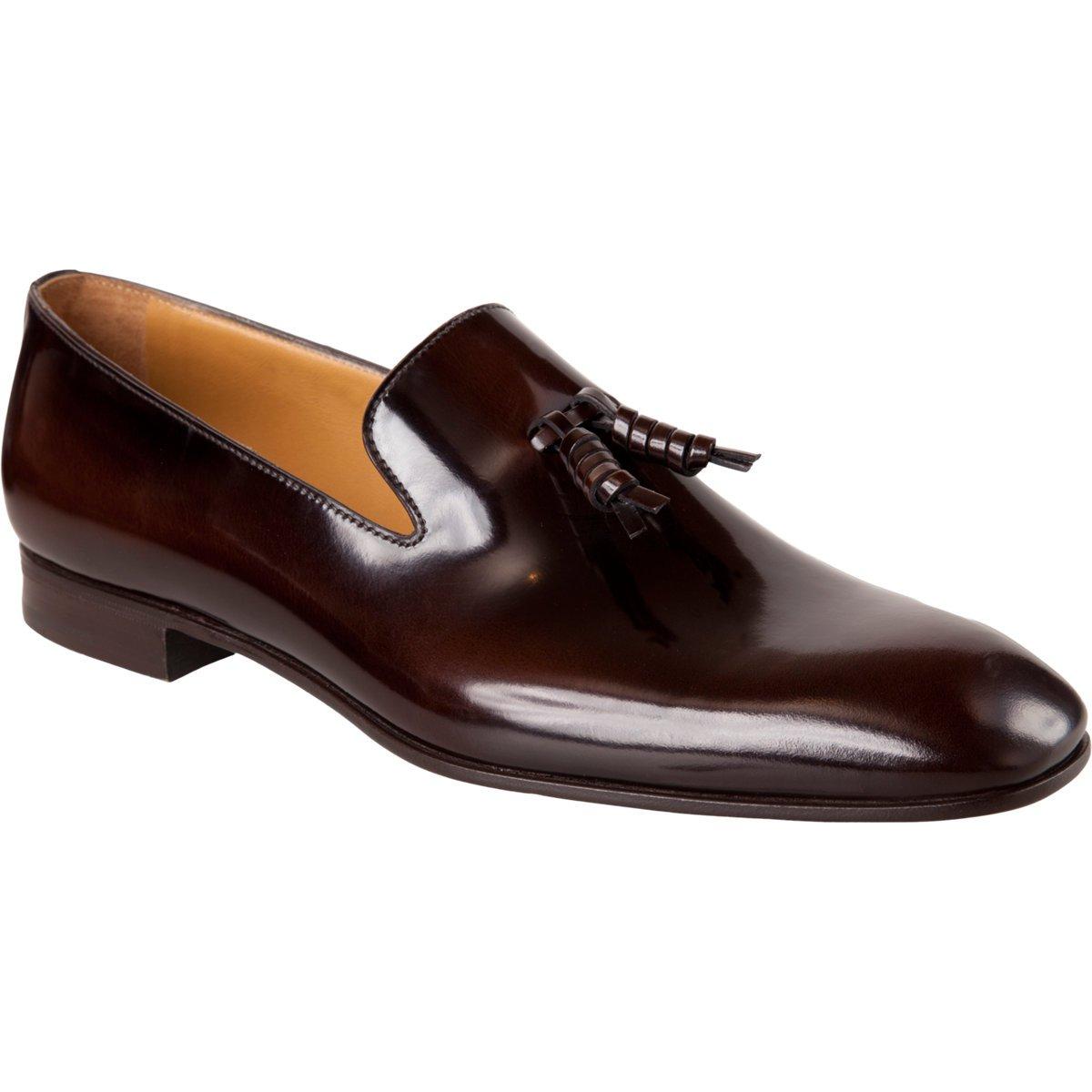 prada leather loafer