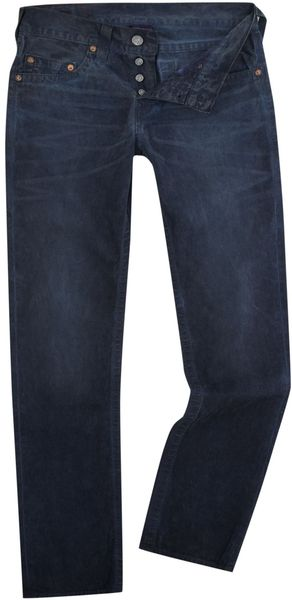 True Religion Medium Wash Slim Leg Jean - Lyst