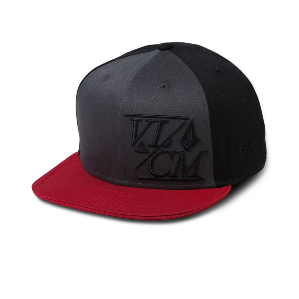 cd59a9a847c ... where to buy lyst volcom new era 8fifty snap back hat in black for men  377ea