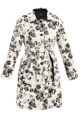 Weekend By Maxmara Elodia Floral Print Coat - Lyst