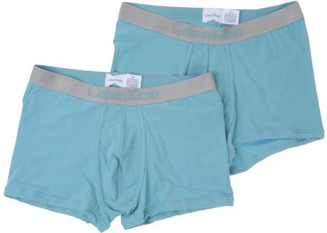 Calvin Klein Boxer in Blue for Men (sky) - Lyst