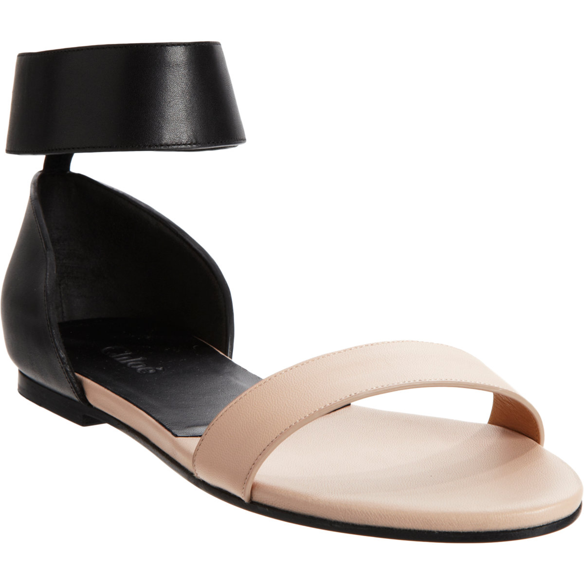 fashionable cheap price best prices sale online Chloé Bicolor Ankle Strap Sandals vVrY7