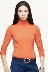 Ralph Lauren Black Label Cashmere Turtleneck - Lyst