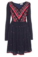 Alice By Temperley Long Sleeve Mariela Dress