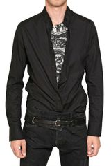 Balmain Light Cotton Canvas Shirt - Lyst
