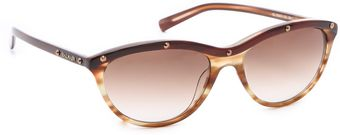 Balmain Anna Cat Eye Sunglasses - Lyst