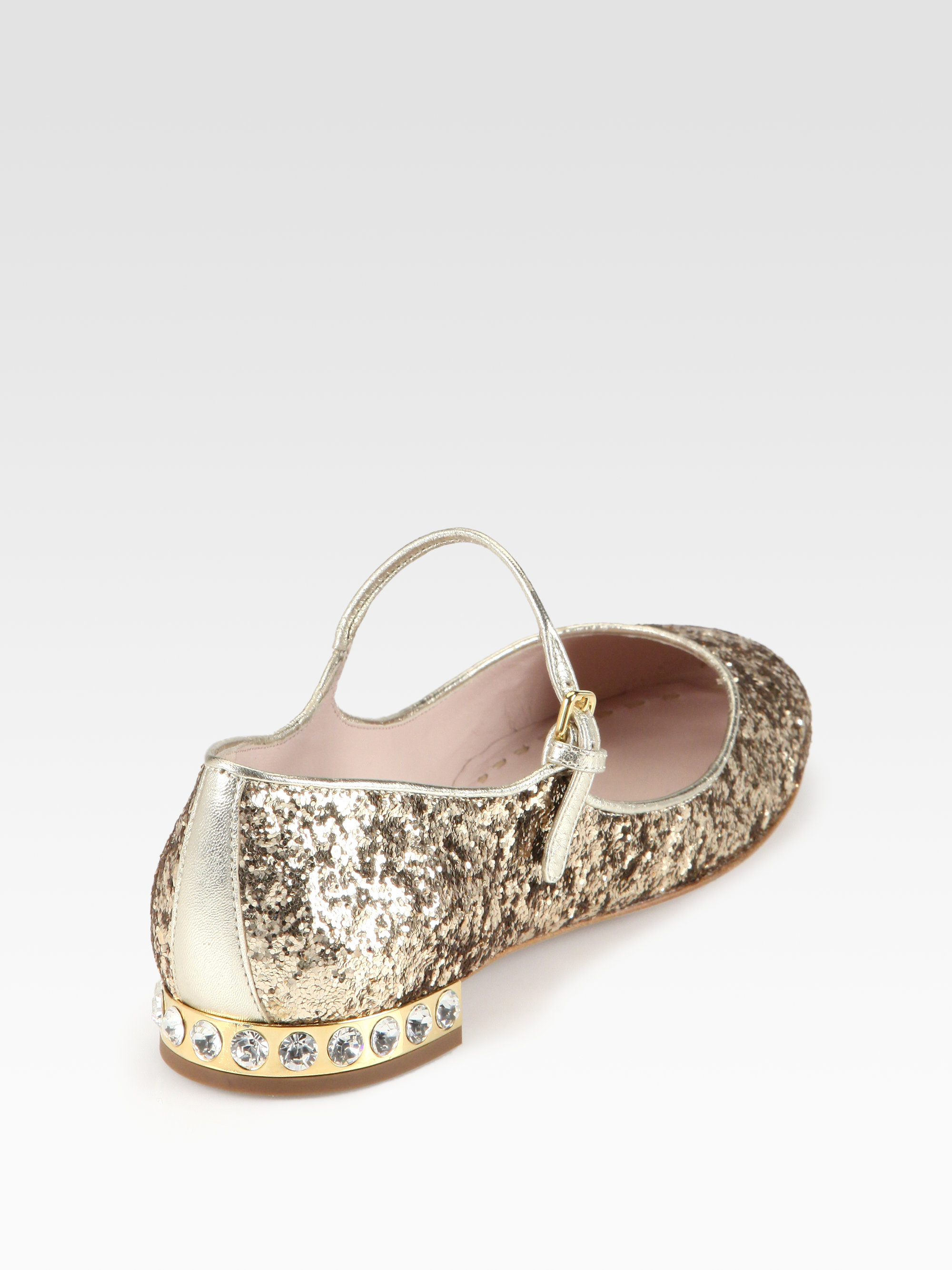 Women S Gold Mary Jane Shoes