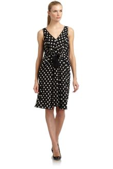Moschino Cheap & Chic Polka Dot Jersey Dress - Lyst