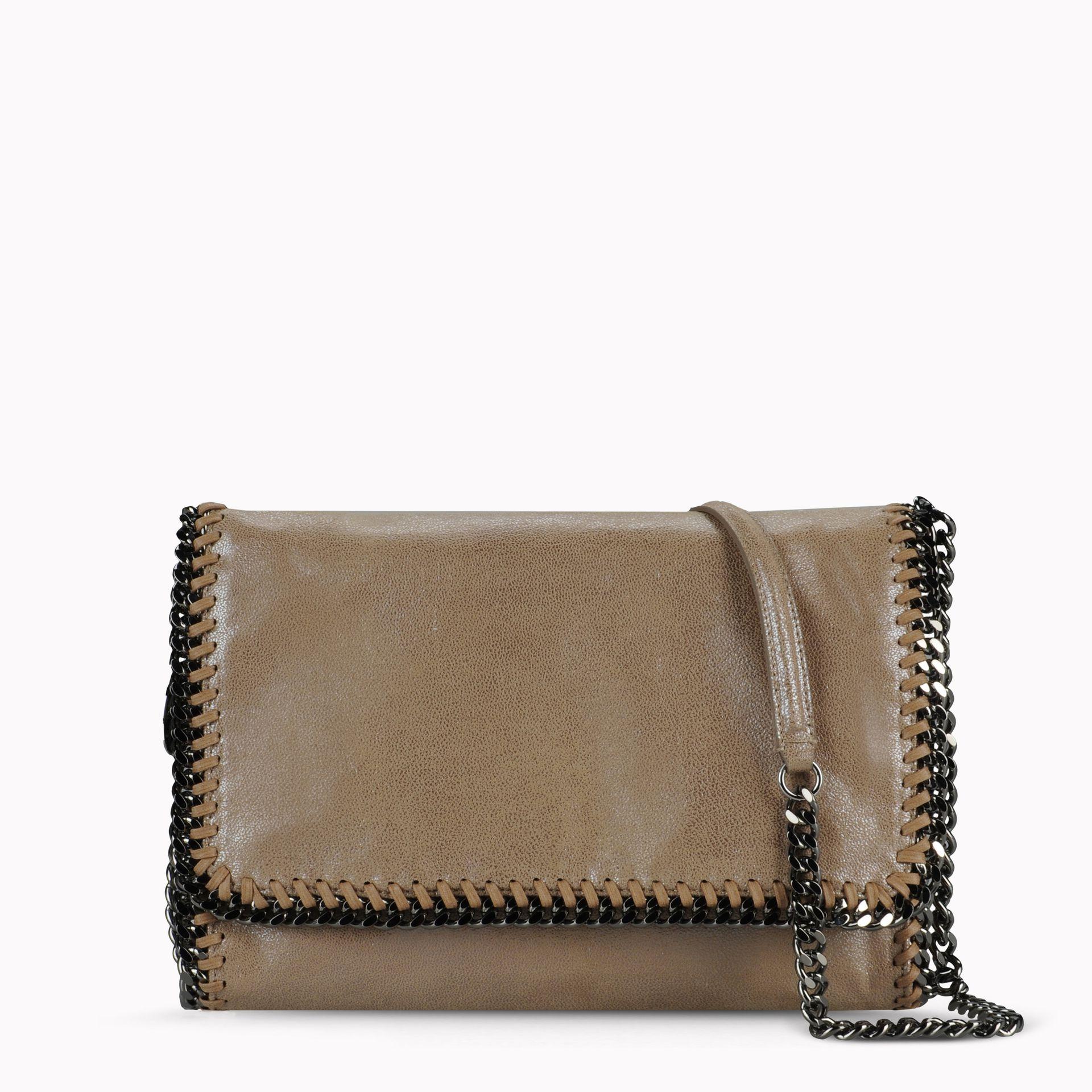 950cad1367 Lyst - Stella McCartney Falabella Chamois Cross Body Bag in Natural