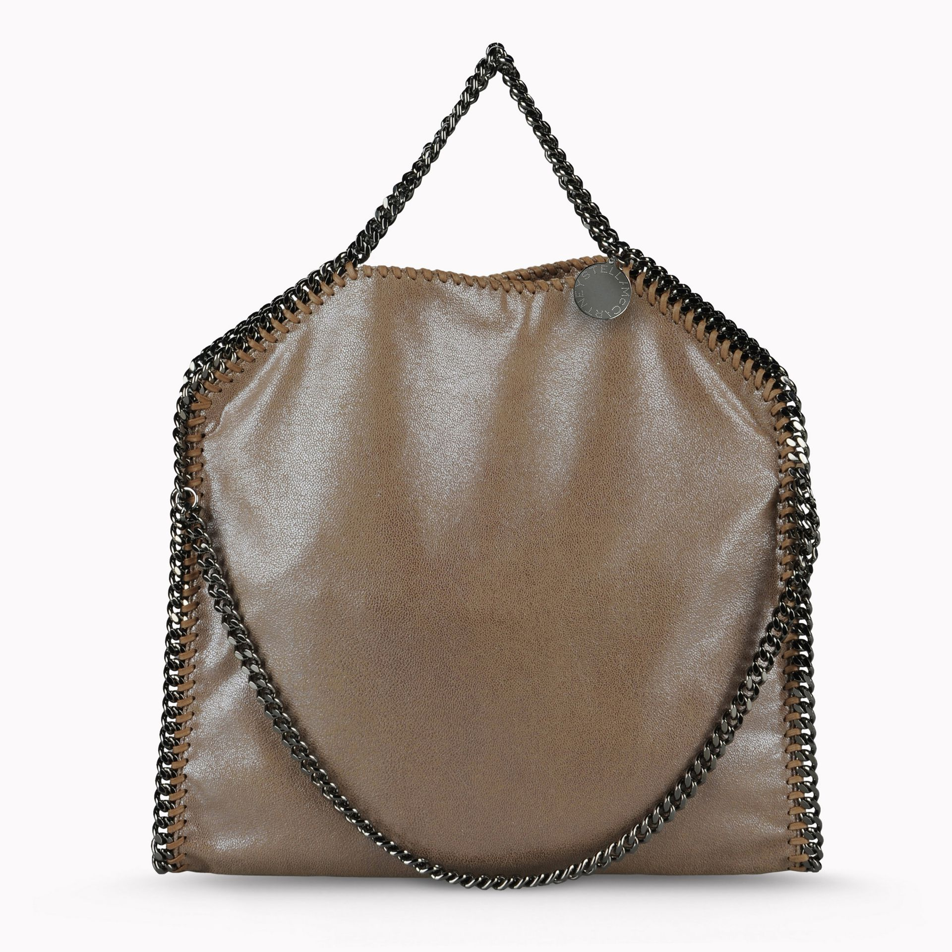 stella mccartney falabella tote bag in brown save 17 lyst. Black Bedroom Furniture Sets. Home Design Ideas