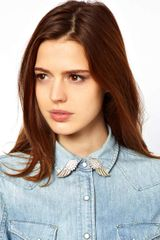 Asos Winged Collar Tips - Lyst