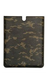 Dolce & Gabbana Camouflage Printed Leather Ipad Case - Lyst