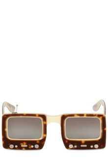 Jeremy Scott TV Sunglasses - Lyst