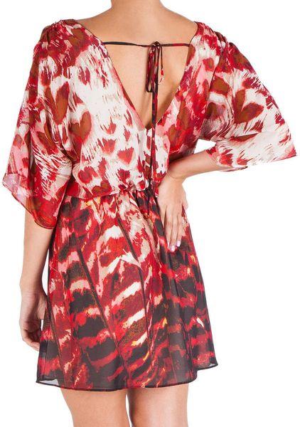 Jessica Simpson Narcissus Kimono Sleeve Dress Juniors In