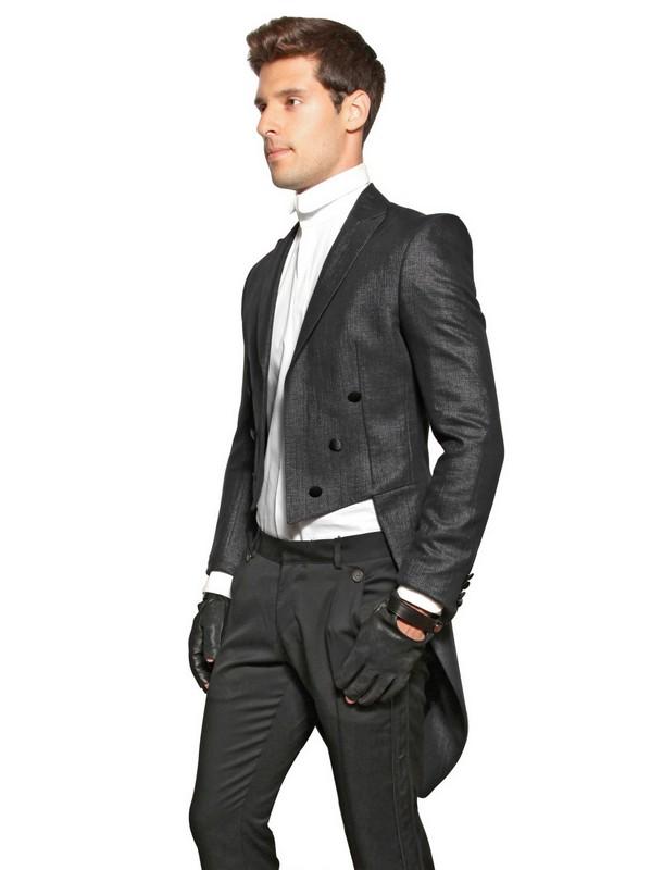 Lyst Karl Lagerfeld Tailcoat Jacket In Black For Men