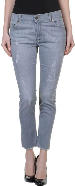 L'Autre Chose Denim Pants - Lyst