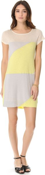 Marc By Marc Jacobs Tanya Colorblock Jersey Dress - Lyst