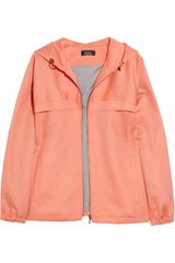 A.P.C. Cotton and Linenblend Jacket - Lyst