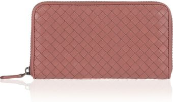 Bottega Veneta Intrecciato Leather Wallet - Lyst