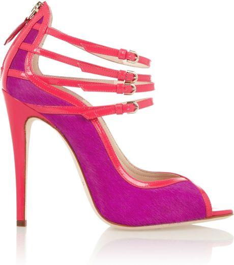 Bright Purple Heels  Tsaa Heel