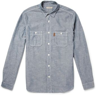 Burberry Brit Slub Chambray Shirt - Lyst