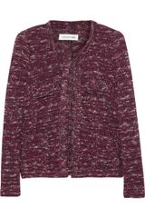 Etoile Isabel Marant Ariana Knitted Cotton Blend Jacket - Lyst