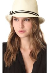 Eugenia Kim Craig Nautical Trilby Hat - Lyst