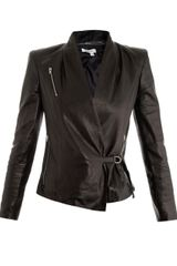 Helmut Lang Leather Jacket - Lyst