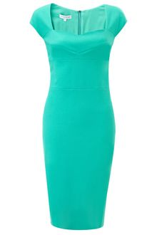 Narciso Rodriguez Marine Cotton Pencil Dress - Lyst