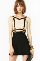 Nasty Gal Harness Stud Dress