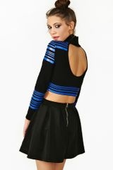Nasty Gal High Line Crop Turtleneck - Lyst