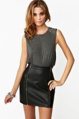 Nasty Gal Spiked Muscle Tee